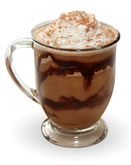 2- Nutella Blended Coffee Drink